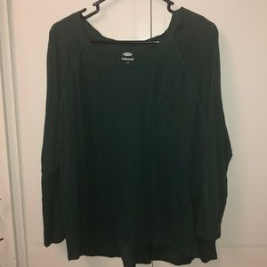 7/8 sleeve relaxed t-shirt